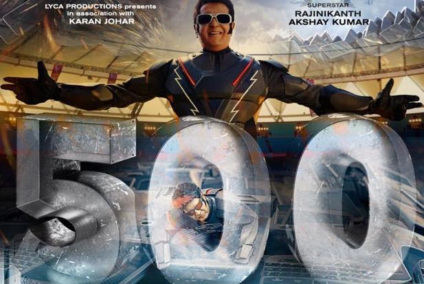 Rajinikanth starrer 2.0 earns Rs 500 crore worldwide