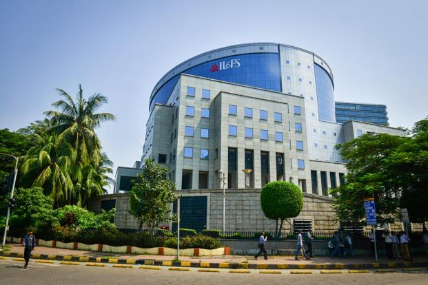 Headquarters of Infrastructure Leasing and Financial Services in Mumbai. Photo: Aniruddha Chowdhury/Mint