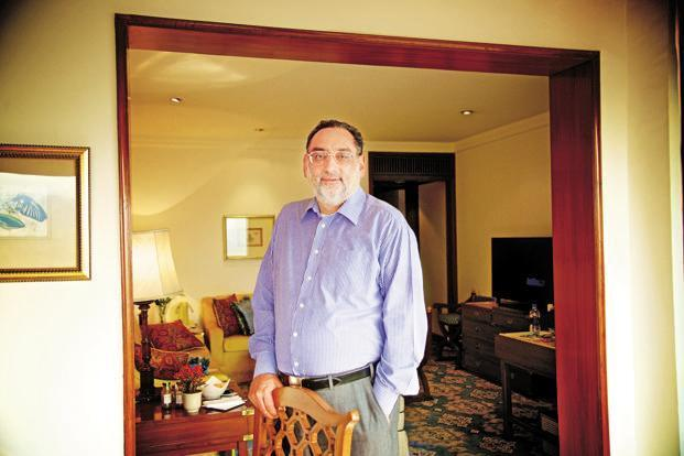 Former finance minister of Jammu and Kashmir Haseeb Drabu. Photo: Priyanka Parashar/Mint