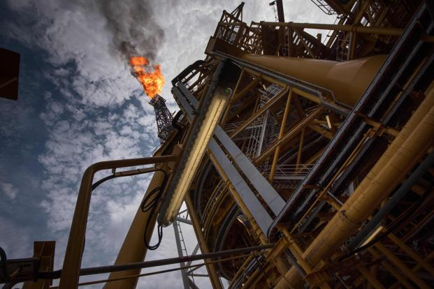 International Brent crude oil futures were down 7 cents, or 0.1 percent, at $61.49 per barrel. Photo: AFP