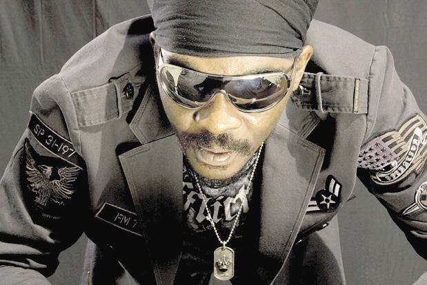 Headliner Anthony B's music fuses Afrecentrism with Rasta spirituality.