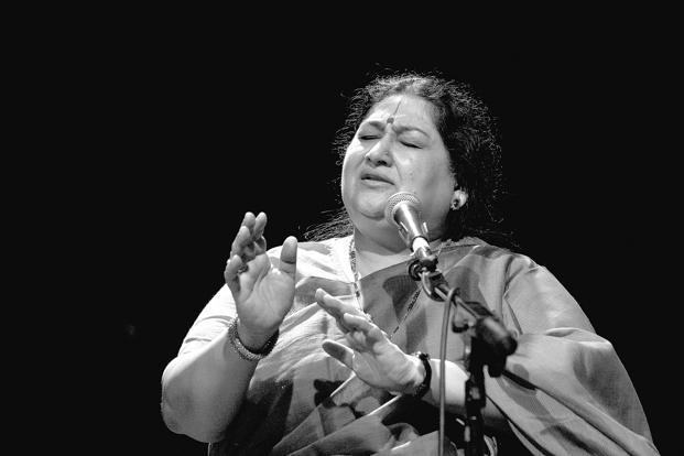 Shubha Mudgal will present a surprise  new track at the NH7 Weekender. Photo: