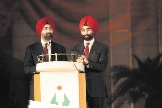 The Singh brothers—Malvinder Singh (left) and Shivinder Singh—have run to the ground a generations-old business that was once worth billions. Photo: HT