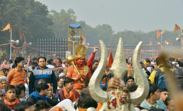Fulfil promise to build Ram temple, RSS tells Centre