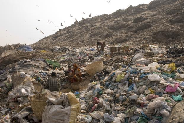 In India, only a third of the waste is treated in some form, according to the urban affairs ministry's data.
