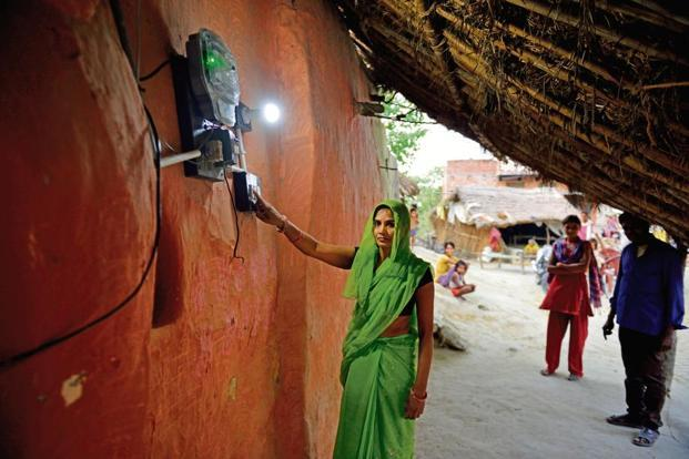 UP holds key to electrifying 30 million households under Saubhagya scheme. Photo: Pradeep Gaur/Mint