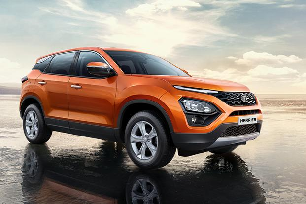 The Tata Harrier, which is based on Land Rover's D8 Architecture, is scheduled for launch next month. Photo: Tata Harrier website