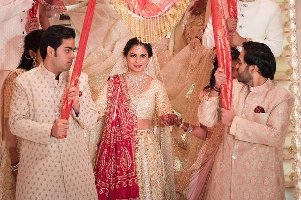 Isha Ambani's most lavish wedding in the past 35 years