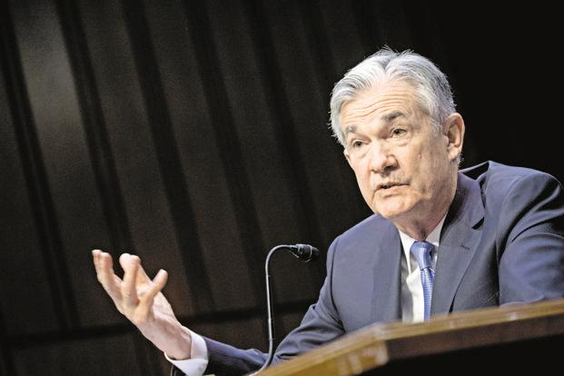 Federal Reserve chairman Jerome Powell. Photo: Bloomberg