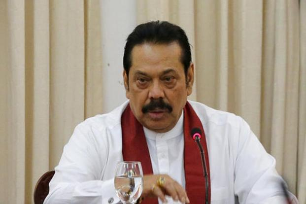 Mahinda Rajapaksa was appointed as the premier on 26 October by President Maithripala Sirisena after sacking Ranil Wickremesinghe. Photo: AP