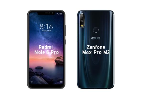 Smartphone Comparison Asus Zenfone Max Pro M2 Vs Redmi Note 6 Pro