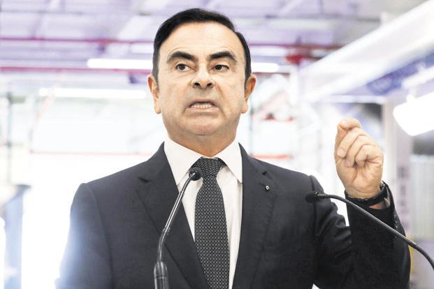 Nissan chairman Carlos Ghosn re-arrested in Japan