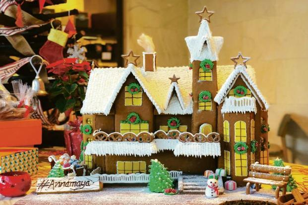 The European food hall at Andaz Delhi has an array of festive meals and offerings aimed at families and children.