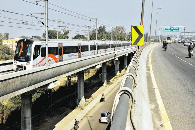 Rational fare structure and improved accessibility has helped turn around the fortunes of the Airport Express Metro Line. Photo: HT
