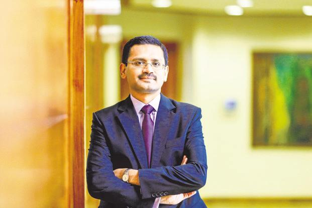 TCS CEO Rajesh Gopinathan. Photo: Bloomberg