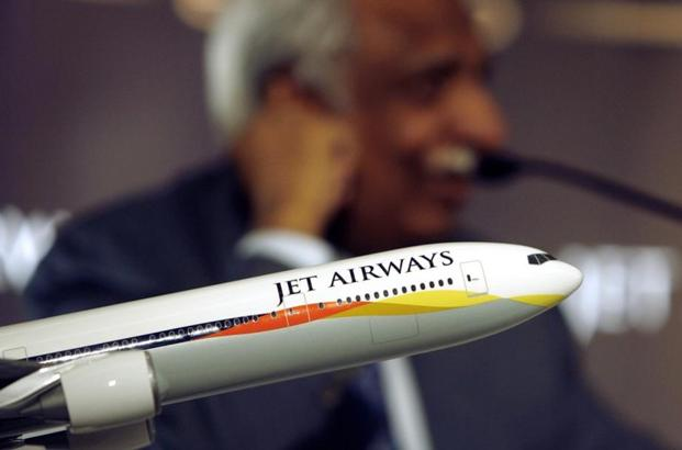 The Naresh Goyal-controlled airline, which has posted three consecutive quarterly losses of over Rs 1,000 crore each. Photo:Reuters