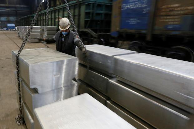 Aluminium prices dropped to a 16-month low in December 2018. Photo: Reuters
