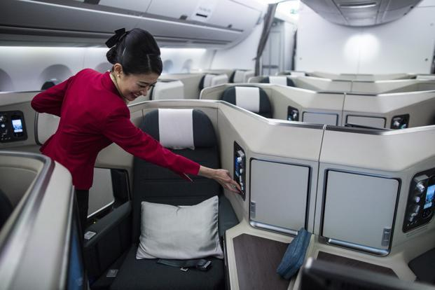 Cathay Pacific didn't immediately say whether it would honour the bookings. Photo: Bloomberg