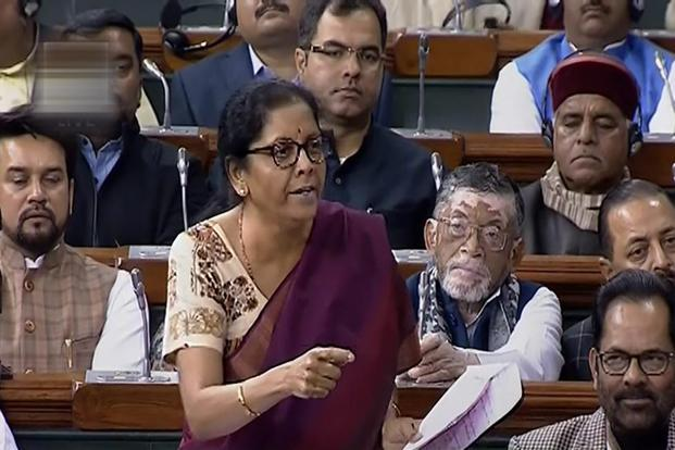 Nirmala Sitharaman has accused the Congress of compromising with national security. Photo: PTI