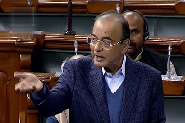 15th Finance Commission terms have been framed with great sense of responsibility keeping the balance in mind, Arun Jaitley told Lok Sabha, answering questions put by Congress's Shashi Tharoor. Photo: PTI