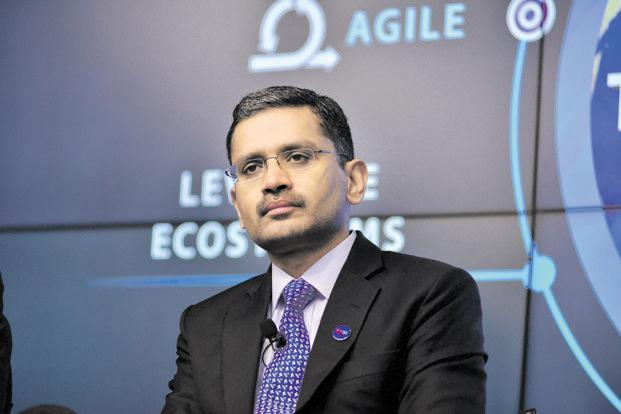 Rajesh Gopinathan, chief executive of Tata Consultancy Services. TCS will need $1.9 billion in incremental revenue in the December quarter (Q3) to clock dollar revenue growth of 10%. Photo: Aniruddha Chowdhury/Mint