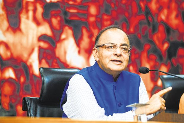 Finance minister Arun Jaitley. The budget session of the parliament is likely to run from 31 January to 13 February. Photo: Ramesh Pathania/Mint