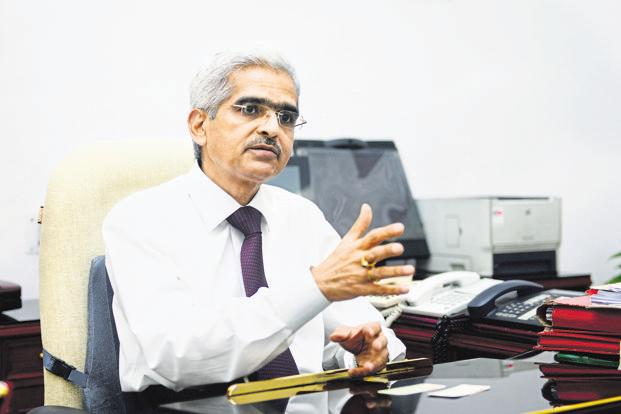 New RBI governor Shaktikanta Das was set to meet representatives from non-bank finance companies on Wednesday. Photo: Ramesh Pathania/Mint