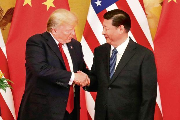 US President Donald Trump and China's President Xi Jinping. The mid-level talks were the first face-to-face meeting between the two sides since their leaders met on 1 December 2018. Photo: Reuters