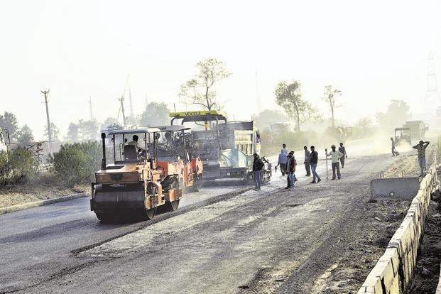 Last fiscal year, 9,829km of national highways were constructed.  Photo: Mint