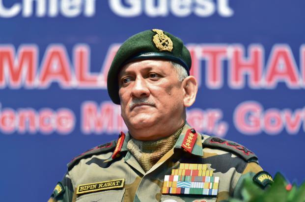 Army chief Bipin Rawat. Photo: PTI