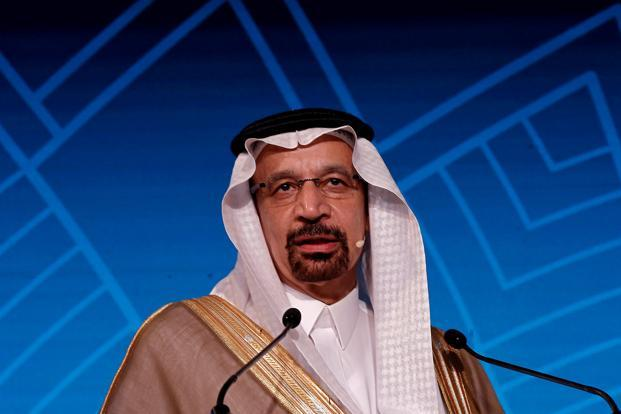 Saudi Arabia's energy minister Khalid Al-Falih has no quarrels with US shale and even sees output cuts by Opec and its allies as directly aiding American drillers. Photo: Reuters