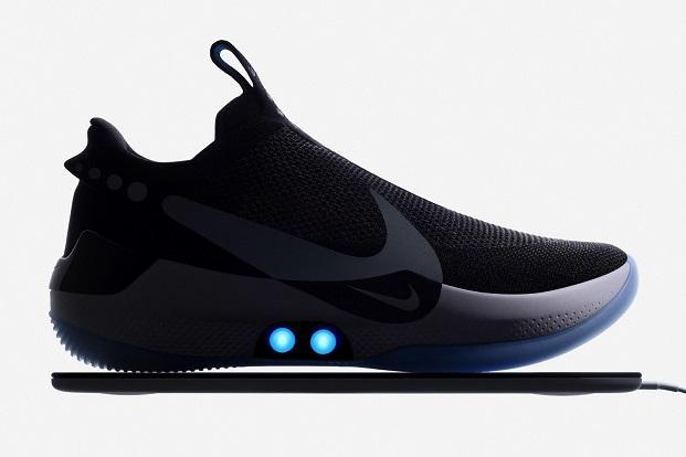 Now your shoes will automatically loosen or tighten when you step into them. Photo: Nike