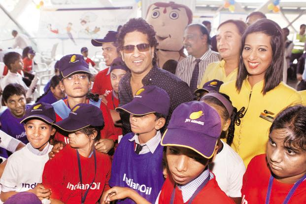 At his peak, Sachin Tendulkar endorsed 18-20 brands; today, it's four, according to TAM Media Research. Photo: HT