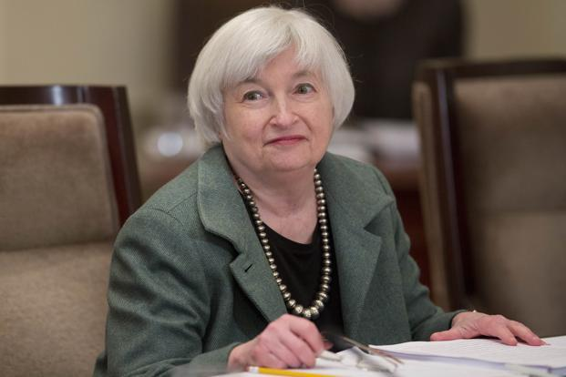 Fed chief Janet Yellen said there is little they can do about market volatility, except to communicate clearly. Photo: Bloomberg