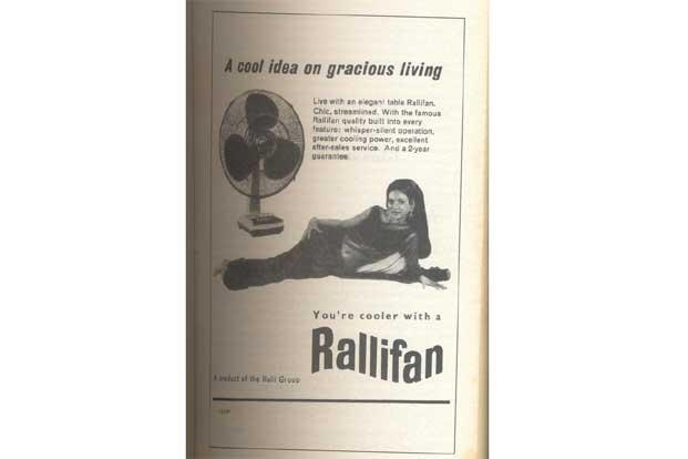 A 1970 Rallifan ad. Photo courtesy The Best of Quest published by Tranquebar.