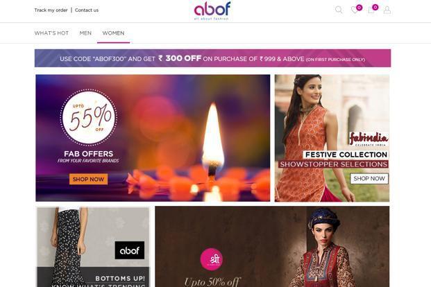 Image result for Abof website