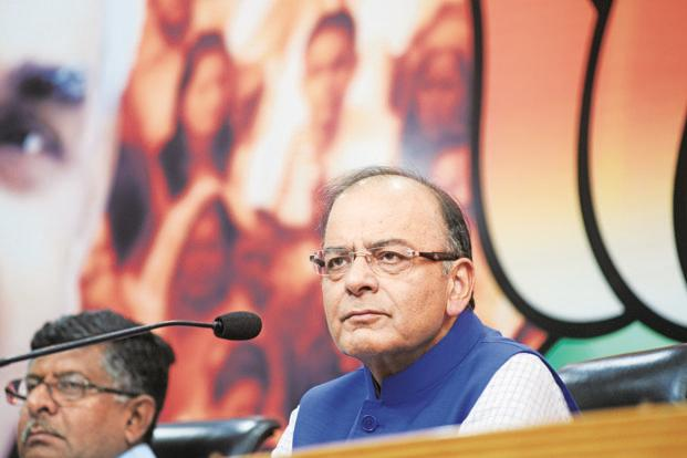 Finance minister Arun Jaitley assured investors that the government is committed to its reform agenda—including obtaining legislative approval for the GST bill. Photo: Ramesh Pathania/Mint