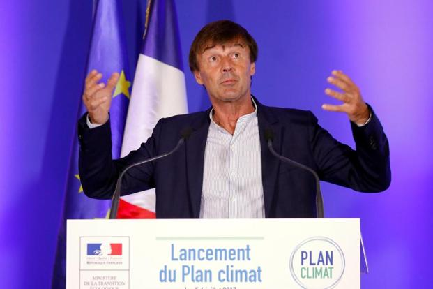 France energy minister Nicolas Hulot. Photo: Reuters