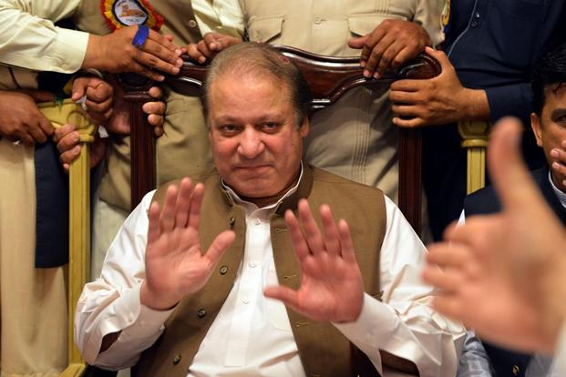 Pakistan's Supreme Court on Friday disqualified Nawaz Sharif from his National Assembly seat over the Panama Papers. Photo: AFP