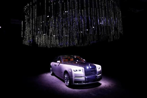 Unveiled in London on Friday, the 2018 Rolls-Royce Phantom is only the second modern version of the flagship state car that Rolls first introduced in 1925. Photo: Reuters