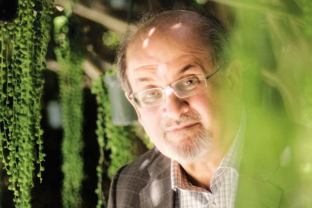 Despite all his literary achievements, Salman Rushdie still seems to be rather proud of his 'Incredibubble' and 'Naughty. But nice' which he created during his 10-year advertising career. Photo: AFP