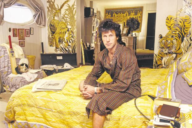 Imran Khan in 1990. Photo: Getty Images
