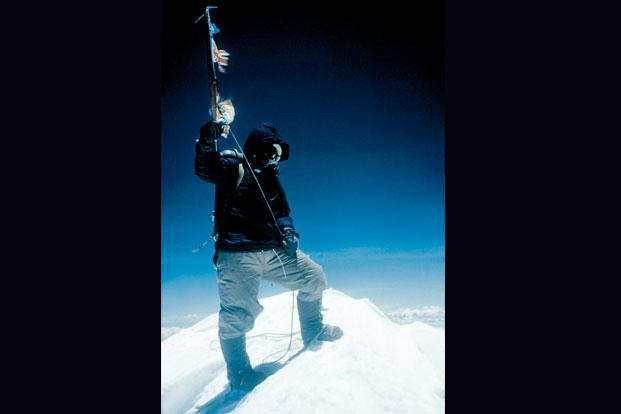photo essay into thin air slideshow livemint tenzing norgay in the picture stands on top of everest on 29 1953