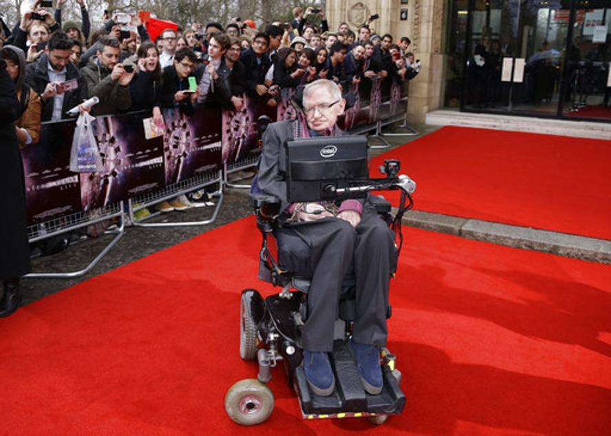 Stephen W. Hawking, whose brilliant mind ranged across time and space though his body was paralyzed by disease, has died, a family spokesman said early Wednesday. Photo: AP