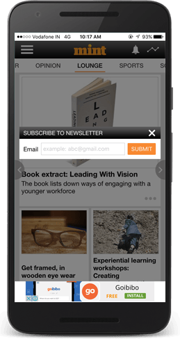 Mint Business News Android App